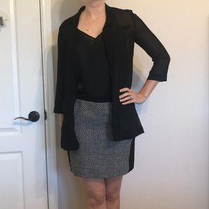 Rachel Roy sheer blazer